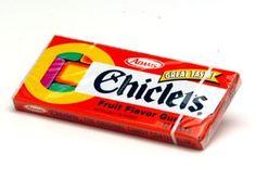 Chicklets Fruit Gum - 20 / Box