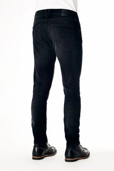 Kuyichi - Kale Skinny Jeans, Recycled Black - www.ecosphere.se