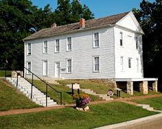 Kansas Constitution Hall State Historic Site in Lecompton
