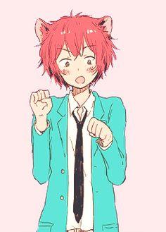 anime boy with red hair - Поиск в Google