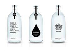 proposal for mineral water packaging by Vidal Larsson