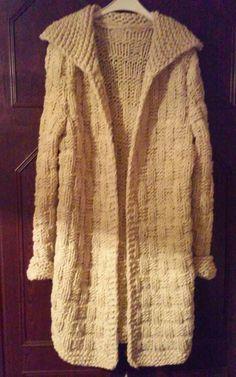 Sweter-plaszcz