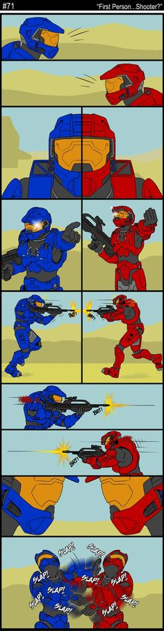 Red Vs Blue e-0