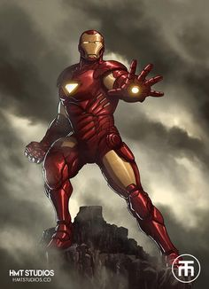 Iron Man by Harvey Tolibao *