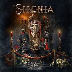 Lady Deathpoet: Sirenia - Dim Days Of Dolor [Limited Edition]  (201... with the new vocalist Emmanuelle Zoldan