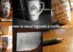 CCC4C: DYI: How to decorate a coffee mug!