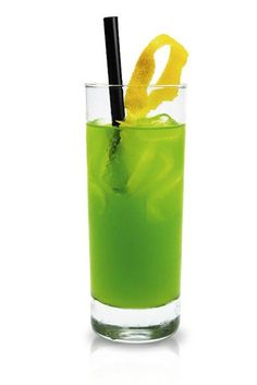 Zielona Żabka drink Blue Curacao, Pineapple Juice, Party Drinks, Perfect Party, Green Colors, Vodka Blue, Beverages, Canning, Simple