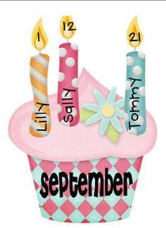 Birthday Bulletin Board Idea