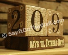 An idea for scrap wood blocks we  have....