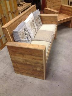 Pallet Bench  #palletbench #palletfurniture #palletideas