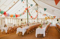 dawn and mark {wedding} (really dont like the idea of all the tables facing foward, but other than that, super cute)
