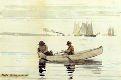 Winslow Homer, Boys Fishing, Gloucester Harbor