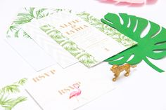 Buy Abigail Warner Tropical Personalised Day Invitations from our Notecards & Invitations range at John Lewis & Partners. Wedding Stationery, Wedding Invitations, Gold Pineapple, Leaf Prints, John Lewis, Note Cards, Big Day, Tropical, Luxury