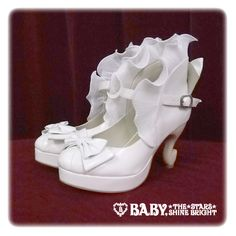 Alice and the pirates Cabriole frill shoes
