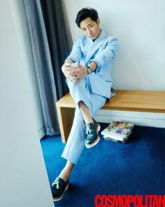 Jin Goo shows his gentle side in Cosmopolitan | Koogle TV