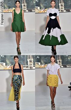 I want pretty: #FashionWeek Spring #2015- #Delpozo