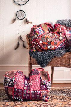 Banjara hobo bags…waiting to be picked up