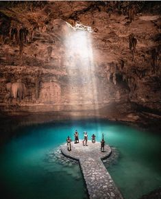Cenotes are one of the top tourist attractions in Riviera Maya, Mexico. This unique capture by Nicole Isaacs shows just how amazing and… – Honeymoon Riveria Maya Mexico, Wonderful Places, Beautiful Places, Mexico Honeymoon, Honeymoon Style, Nature Photography, Travel Photography, Visit Mexico, Mexico Travel