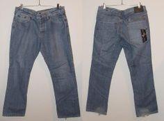 Spodnie Lambretta męskie dzinsowe jeans 36L