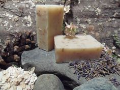 3oz Bar of Lavender & Oatmeal All Natural Soap by MaineMountain, $3.95