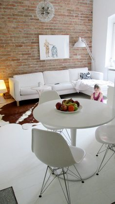 #dining #brickwall Photo & desig by Merci-Ancsa dekor