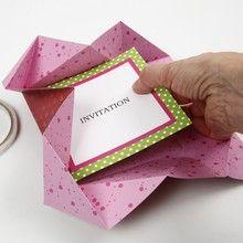 12922 Folded Vivi Gade Design Paper Greeting Cards as Invitations