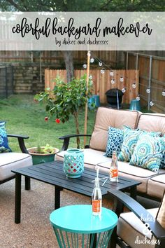Check Out These Easy Ideas For A Colorful Backyard Makeover That Ll Turn Your Outdoor E Into Favorite Living Area Via Dukes And Sses