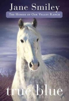 True Blue is a beauty, a dappled gray, and when Abby gets to take him to her family's ranch, she can hardly believe her luck. The horse needs a home: his ownera woman brand new to the riding stablewas