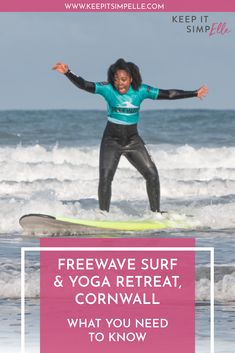 Looking for a luxy surf and yoga retreat? North Cornwall is home to Freewave Surf Academy and their perfectly packaged holidays. Come take a look. Clean Beach, Beach Look, Swim Technique, Fitness Tips, Health Fitness, Nature Words, North Cornwall, Passion Planner, Learn To Swim