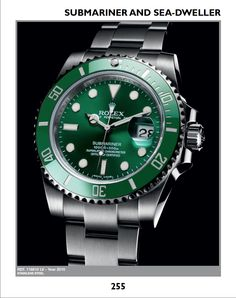 With more than 1200 pictures, this book provides the main characteristics and updated market prices of all modern and vintage Rolex. http://www.collectingwatches.com/product/total-rolex/