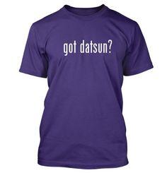 got datsun? Funny Adult Mens T-Shirt Purple X-Large