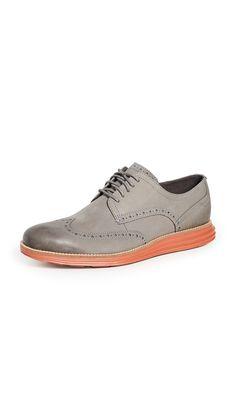 COLE HAAN ORIGINAL GRAND SHORT WINGTIP OXFORDS. #colehaan #shoes Men's Shoes, Dress Shoes, Potters Clay, Cole Haan, Oxford Shoes, Lace Up, Sporty, Fashion Shirts, Oxfords