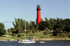 """Jupiter lighthouse from """"The Square Grouper"""""""