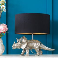 Triceratops Table Lamp Base - Lighting - Shop By Category - Clearance