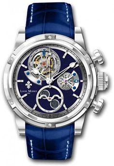 Louis Moinet AstroMoon White Gold   Timeless Luxury Watches