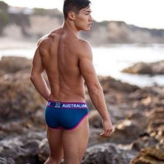 Inhale the future. Exhale the past <3 with @itswilsonlai @willitfitness  the To Eros by 2EROS | Shot by @julianmorales #2EROS #malemodel #beachbody #summerbody #healthy #asian #active #motivation #fitguys #summer #Australian #underwear