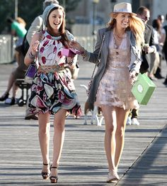In Season 4 Blair Waldorf (Leighton Meester) and BFF Serena van der Woodsen (Blake Lively) traipsed through Paris