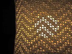 DIY gehaakte lampenkap/crocheted lamp shade