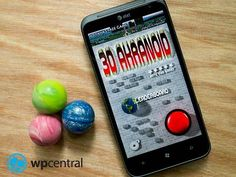 3D Akranoid for Windows Phone