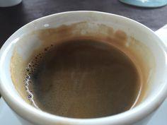 Kahvi jossa on ns. crema.... on oikea kahvi. Tähän ei Paulig pysty. #torrevieja #finland