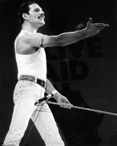 Freddie Mercury ~ Queen at Live Aid 13th July 1985