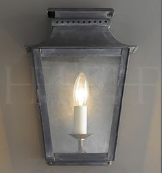 Zeus Wall Lantern, Small  - Hector Finch