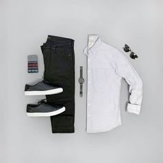 Keeping it simple today with some new gear from --- Pants: Shirt: Sunglasses: Watch: Shoes: Mens Casual Dress Outfits, Stylish Mens Outfits, Cool Outfits, Fashion Outfits, Simple Outfits, Boy Fashion, Fashion Blogs, Hipster Outfits, Fashion Sets