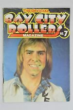 The Official Bay City Rollers Magazine #7 June 1975 Vintage UK Pop Music