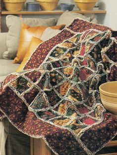 Crazy For Flannel Quilt Pattern Pieced LM