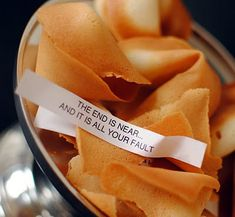 Funny Fortune Cookie Fortunes