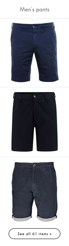 """""""Men's pants"""" by burning-amber ❤ liked on Polyvore featuring men's fashion, men's clothing, men's shorts, men, bottoms, thomas donnelly, mens clothing, mens apparel, preppy mens clothing and shorts"""