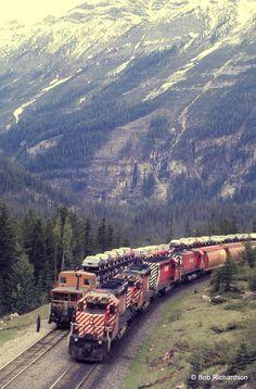 Train Car, Train Tracks, Train Rides, Railroad Bridge, Railroad Tracks, Back Of America, Grand Funk Railroad, Canadian Pacific Railway, Vintage Trains
