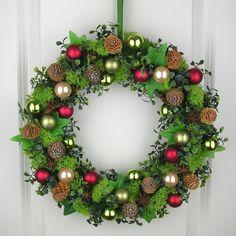 Weihnachtskranz Adventskranz Wandkranz Türkranz Weihnachten Kranz Weihnachten