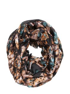 ABSTRACT FLOWER TUBE SCARF - Pieces